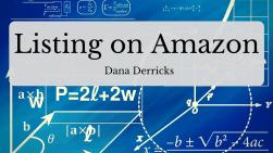 Listing on Amazon