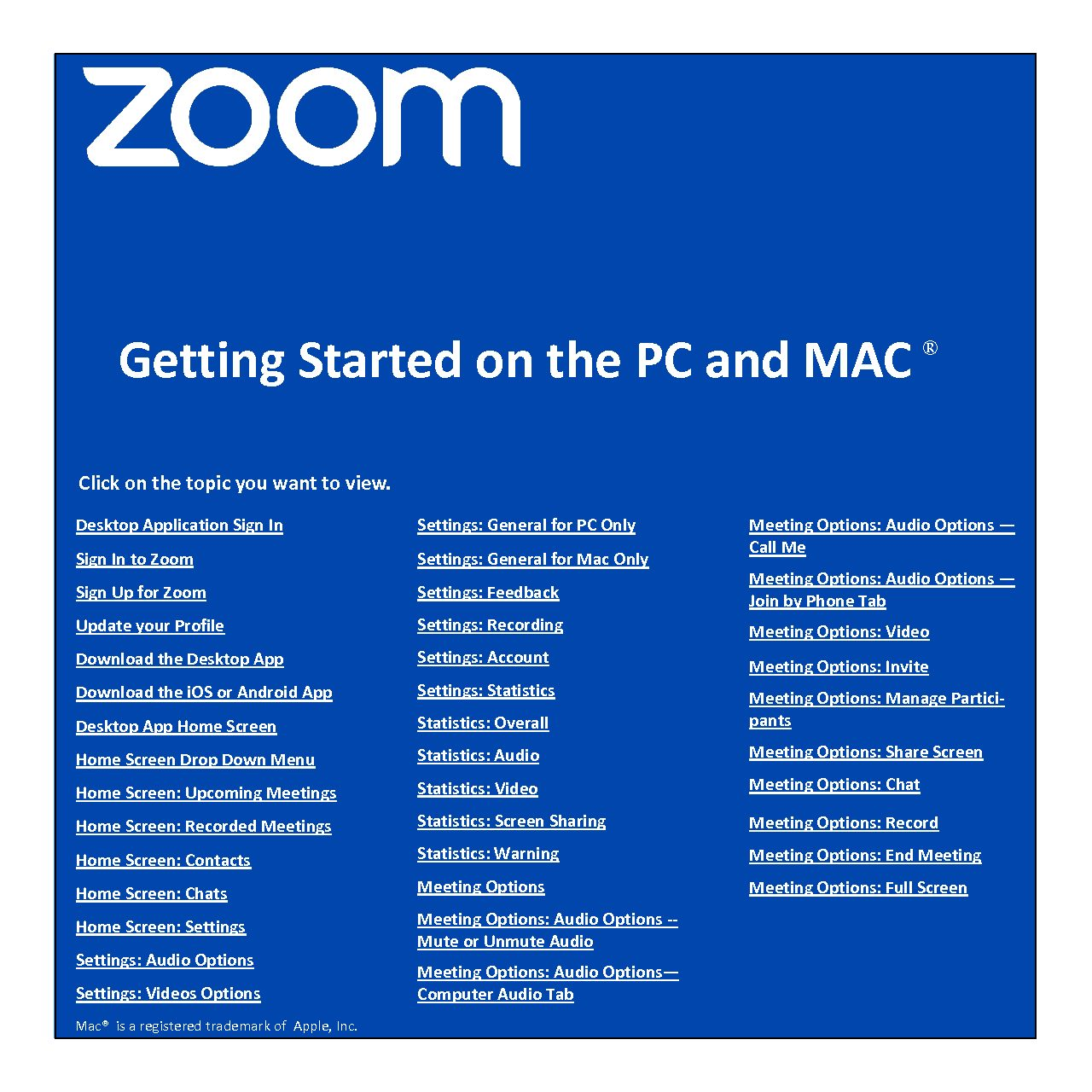 Zoom Download Mac