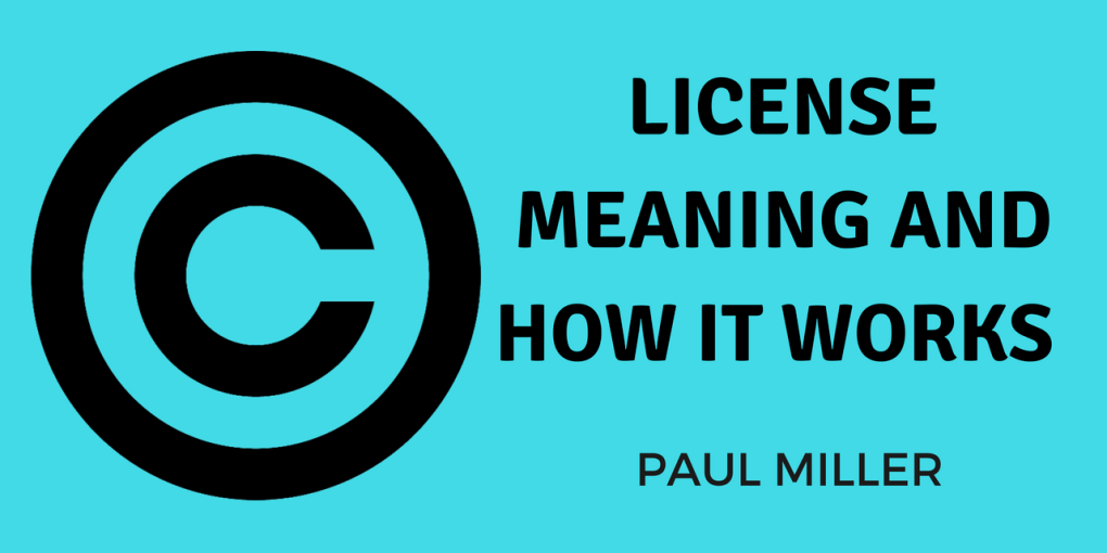 license meaning