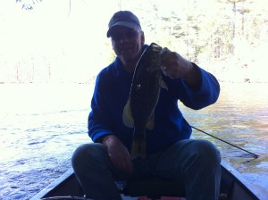 The smallmouth bass that pretended to be a big brookie!