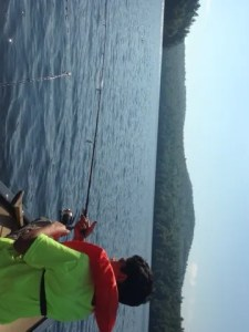 """Granger Pond has a distinctive """"big lake"""" feel even though it covers only 125 acres"""