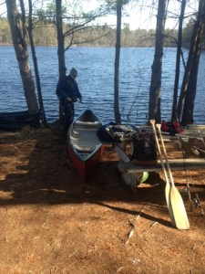 Chaffin Pond does not have a boat launch
