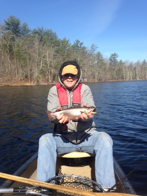 The top ponds stocked with brook trout for the spring of for Maine fishing laws 2017