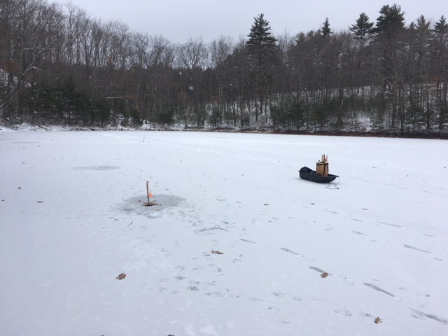 December 2017 the amazing fish a metric for Ice fishing clearance