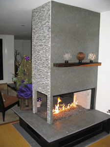Fireplace and Fire Pit Pictures With Glass