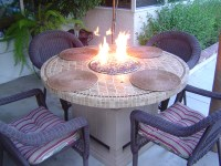 Fire Tables, DIY, Fire Pit Tables, Fire Glass Tables ...