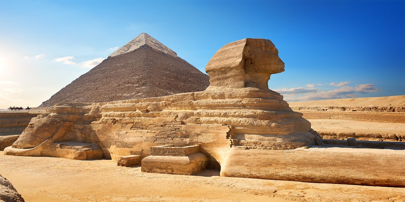 Ancient Sphinx in Egypt