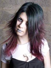 gothic hairstyles amazing