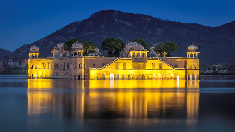 Image result for Jal Mahal hd