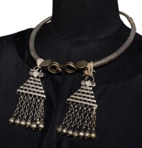 Buy Belly Dance Jewelry Neck Ring - Authentic Banjara ...