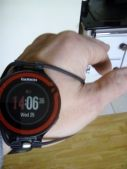 Out with the old in with the new...A watch band made for new age of runner,cyclists and swimmer..