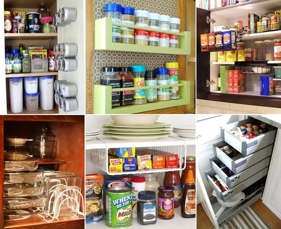 Kitchen Cabinet Inside 10 Clever Ideas To Organize Inside Your Kitchen Cabinets