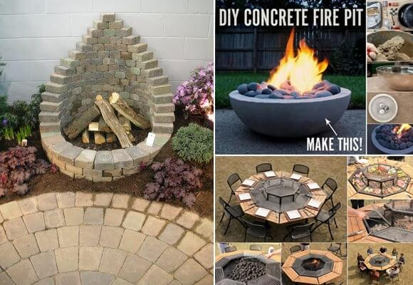 11 Cool Fire Pit Ideas For Your Home