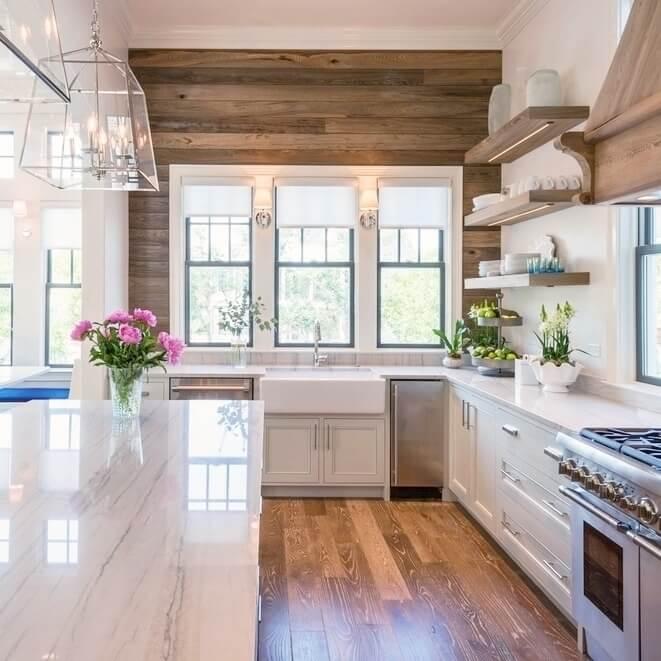Inspiring Kitchen Accent Wall  Home Design #1014