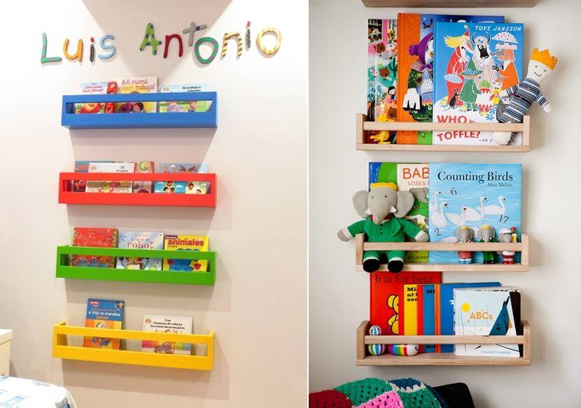 10 Easy DIY Kids Book Storage Ideas