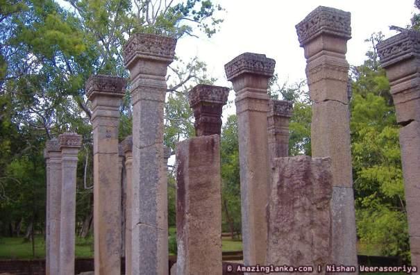 Relic Shrine in Abayagiri Monastery