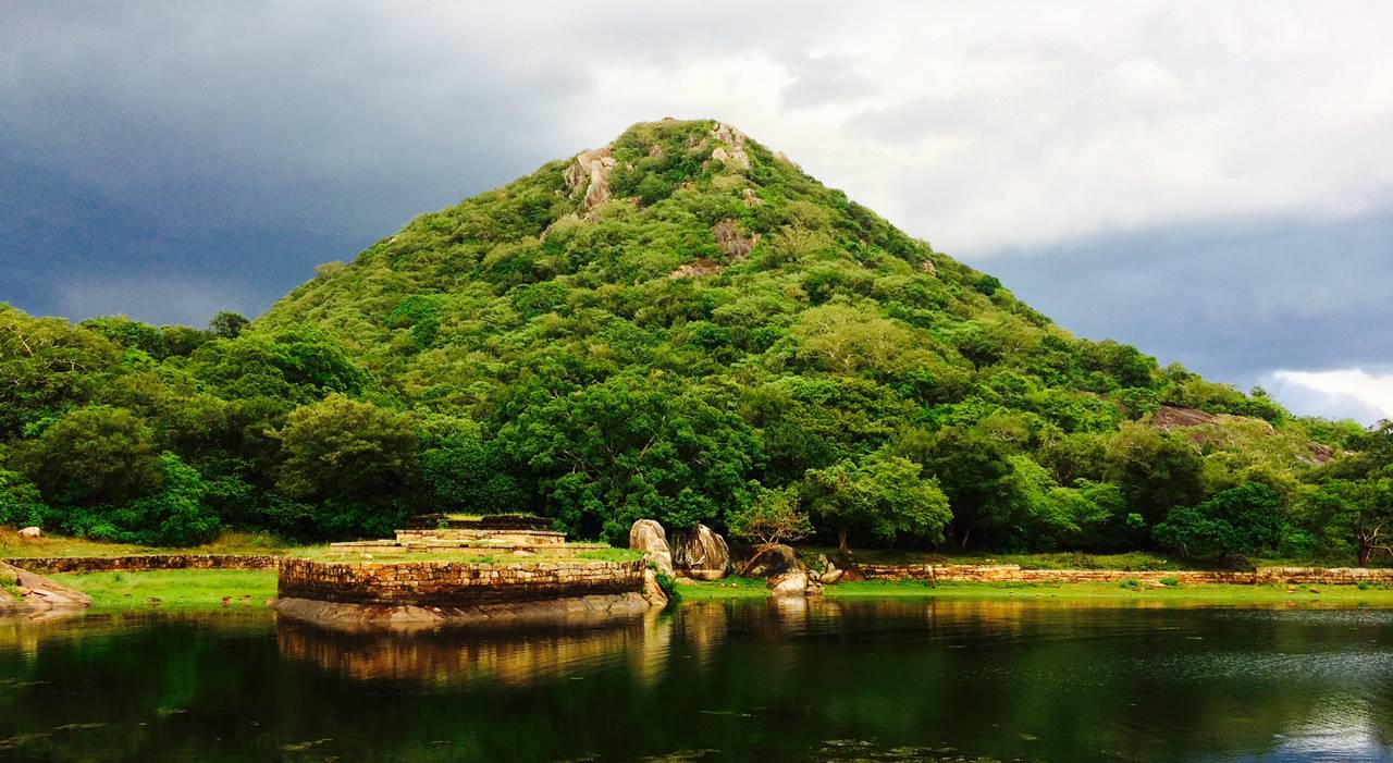 Kaludiya Pokuna (Blackwater Pool) of Mihintale
