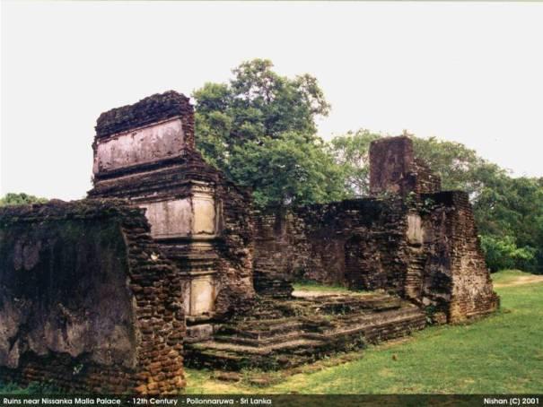 Remains of the Palace of King Nissanka Malla