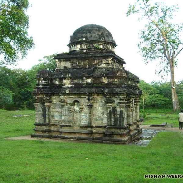 Shiva Kovil (no. 2) of Polonnaruwa Kingdom