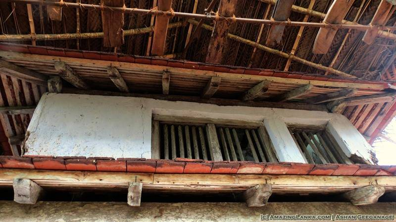 Dhathu Mandiraya of the Bihalpola Rajamaha Viharaya under restoration