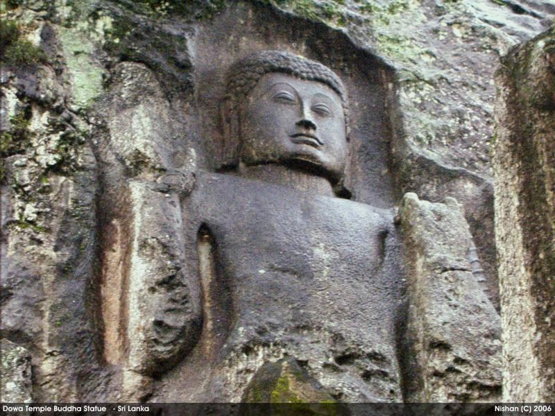 Carved Buddha Statue - Dowa Raja Maha Viharaya