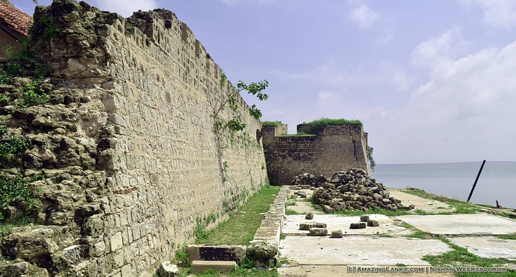 Walls of the Mannar Fort
