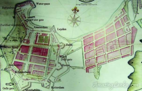 Dutch Casteel of Colombo 1756 (Comprehensive Atlas of the Dutch United East India Company Vol. IV)