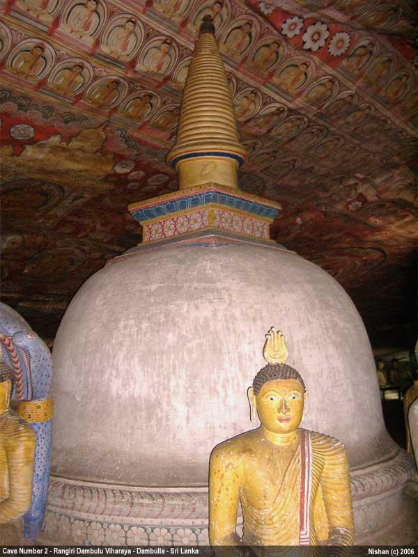 Rangiri Dambulu Viharaya / Dambulla Cave Temple - Cave Number 2 - Maharajalena