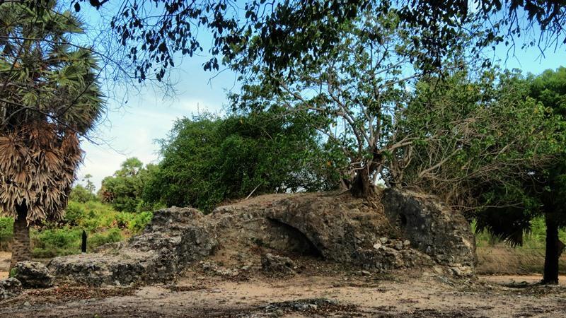Remains of Fort Pas Beschutter in Jaffna Peninsula