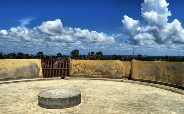 Top of Martello Tower at Hambanthota