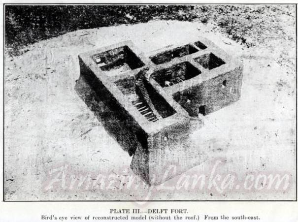 Replica of the Delft Fort built by Joseph Pearson around 1923