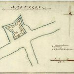 17th century map of Ruwanwella Fort