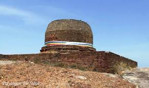 Kudumbigala Monastery Only Cylindrical Dagaba to survive in Sri Lanka today
