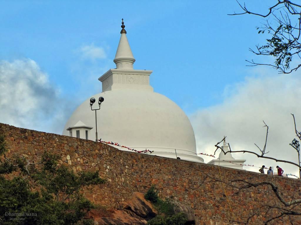 The main stupa of Sithulpawwa Viharaya