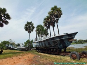 War Museum at Puthukkudiyiruppu on the Kilinochchi - Mulativu Route