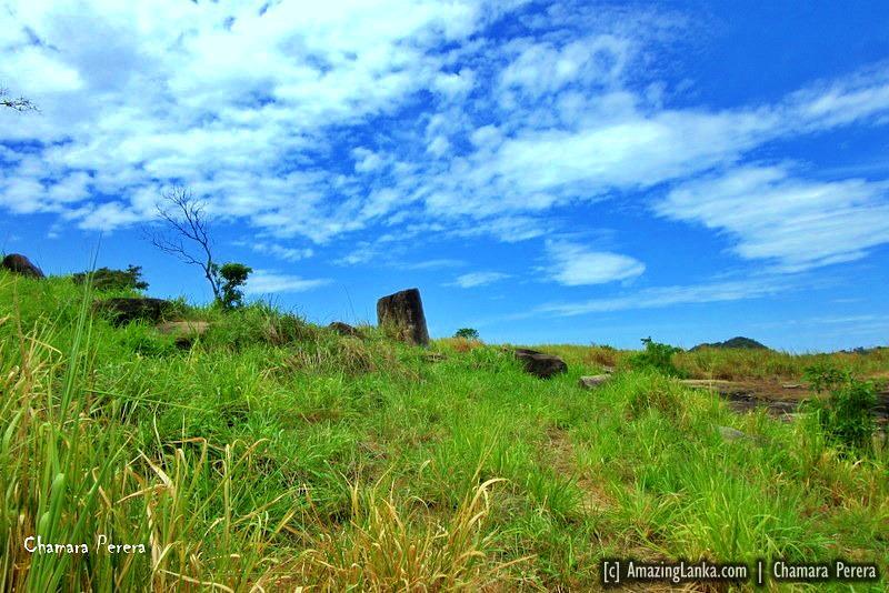 Top of Nuwaragala Kanda in Ampara