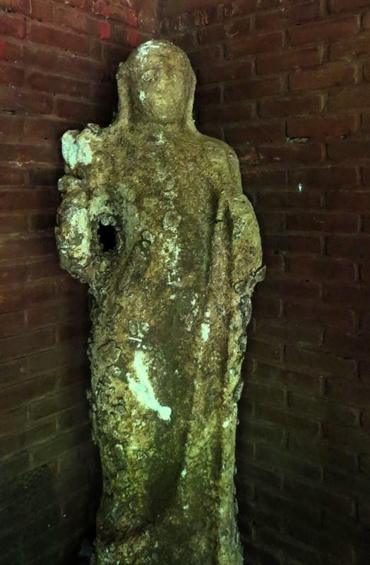 Statue found on a private property - Kuragala Galtemyaya Ruins