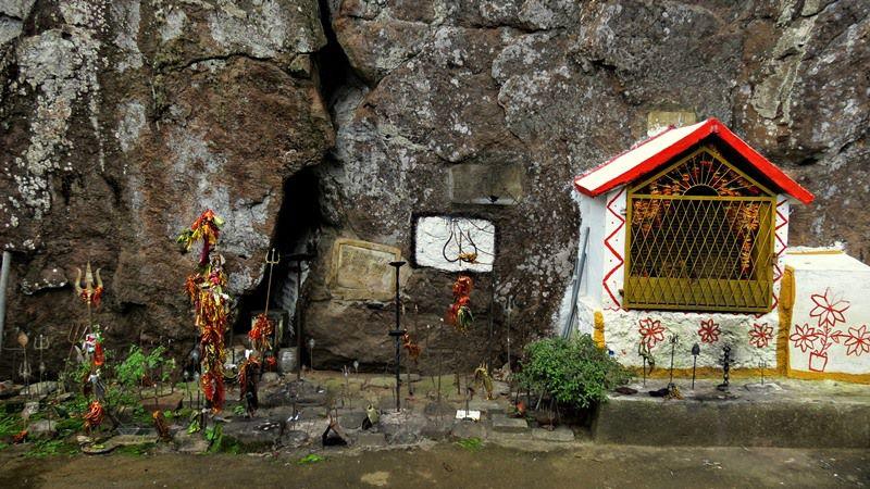 A Hindu Kovil at Dripping Rock at Halgolla Tea Estate