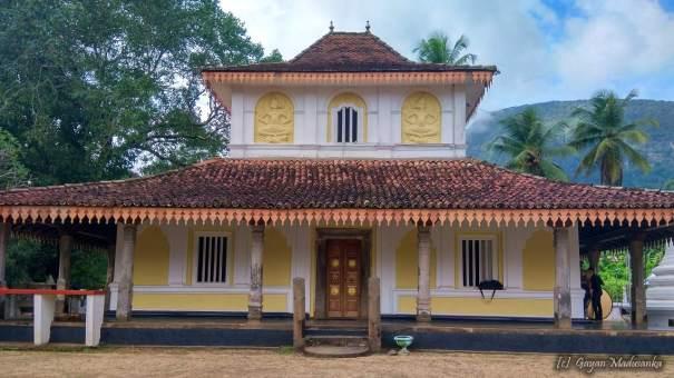 The image house built by King Parakramabahu IV of Kotte Kingdom at Ganegama Aramunapola Rajamaha Viharaya