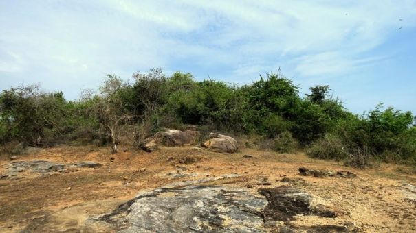 Sagama Archaeological site - ruins been destroyed