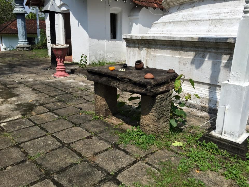 Ruins of Warakapola Beligala Rajamaha Viharaya