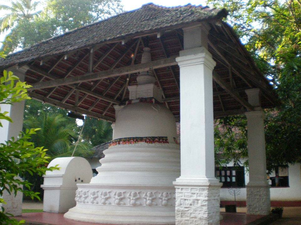 The Stupa House (Kuludageya) at Ahugoda Purana Tampita Viharaya