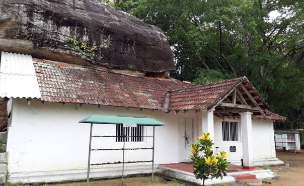 The image house built by king Sri Wickrama Rajasinhe of the Algama Sri Sangharaja Rajamaha Viharaya