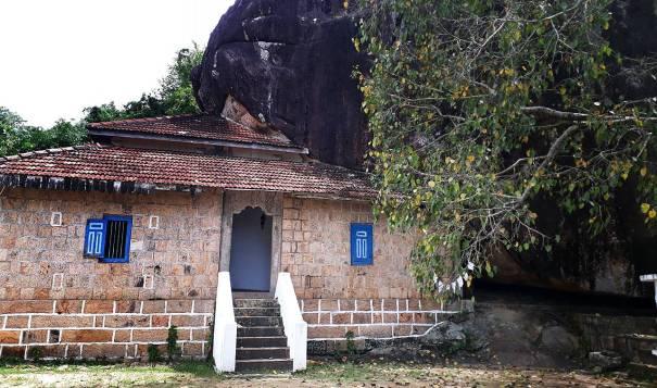 The image house built by king Rajasinghe II at Metiyagane Mayurawathi Rajamaha Viharaya