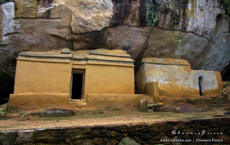 the second ancient image house at the Nathagane Ancient Cave Temple Complex in Kurunegala