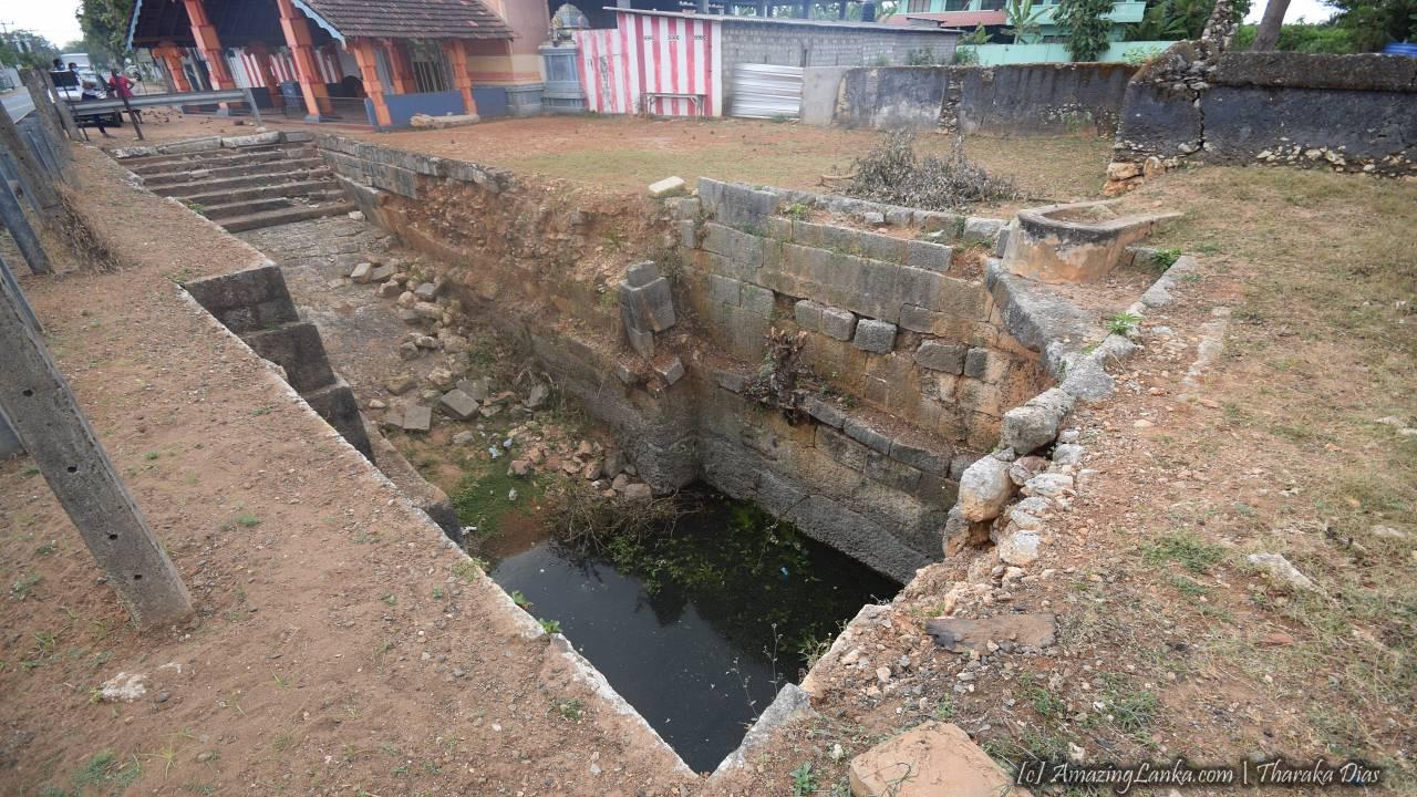 Ruins of the Ancient Pond at Nelliady Muthukumara Swamy Kovil in Jaffna <BR> photo by :  Alpha Sri