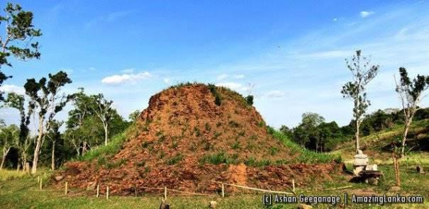 Lahugala Na Maluwa ancient stupa