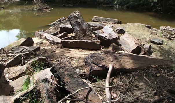 Ruins of Yanoya Gal Palama (Stone Bridge)