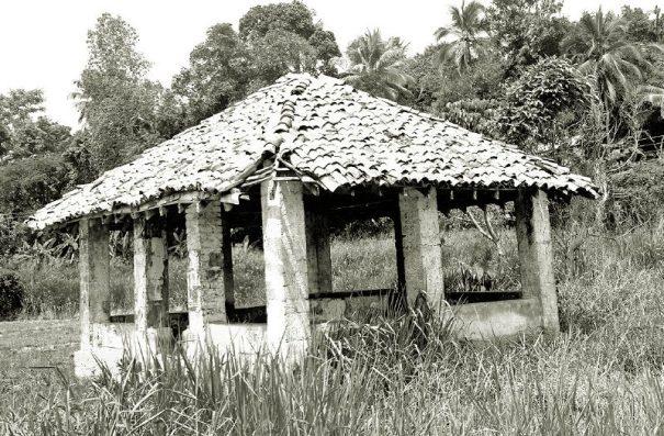 Aranayake Godigamuwa Ambalama before restoration