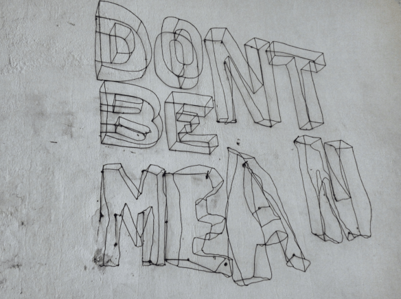 Don't be mean!